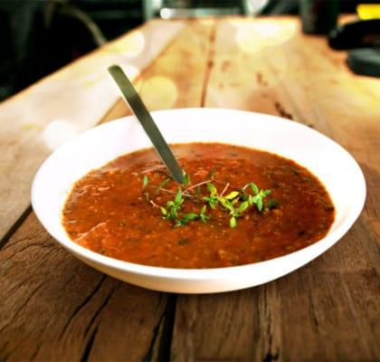 Linssoppa Tricolore –Soppa med röda, gula och gröna linser