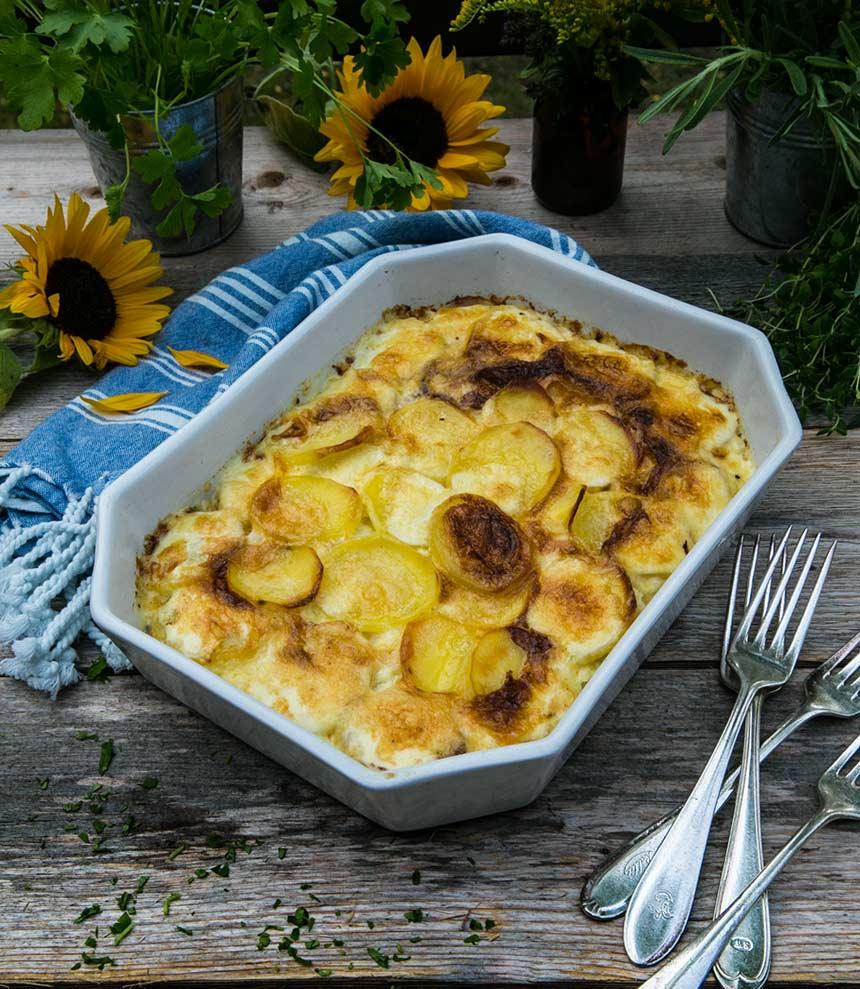 Potatisgratäng laktosfri recept