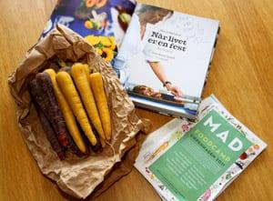 Morötter och bok