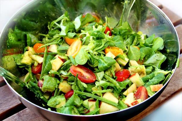 sallader recept avokado