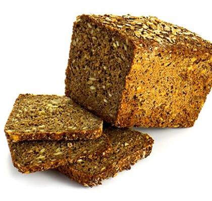 Lättbakat, mörkt bröd med dinkel och frön
