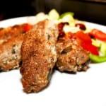 Fröspäckade köttfärsrullar