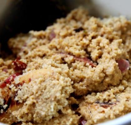 Kyckling med getost och couscous