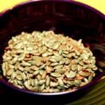 Rostade kryddiga nötter och fröer
