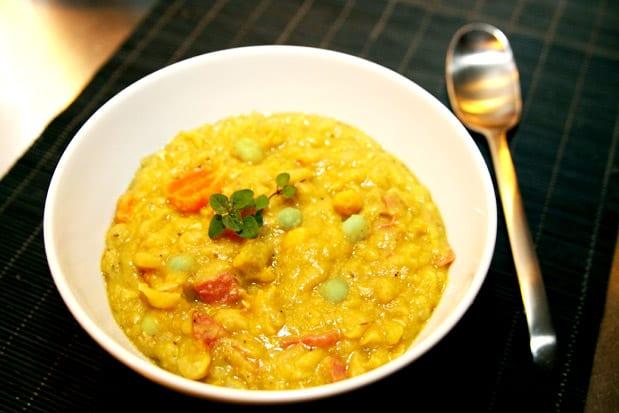 gula ärtor soppa