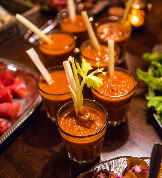 Gazpacho till buffé
