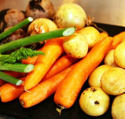 Vegetarisk nyårsmeny