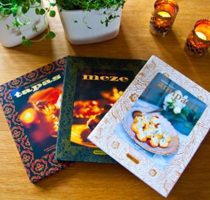 Böcker med plockmatsrecept
