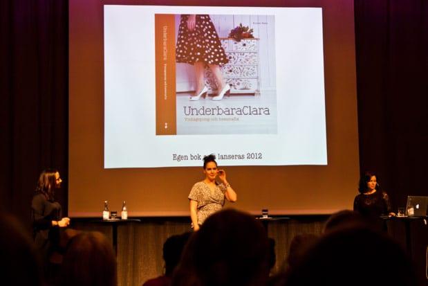 Bloggforum 2012 - Underbara Clara