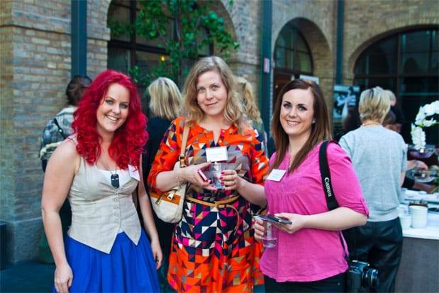 Bloggforum 2012 - @MadLandley @SMASKENSK & @LinneasSkafferi