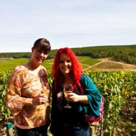 Madeleine Landley och Karoline Nordefors i Laroche 2012