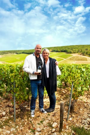 Håkan Krantz and Madame Laroche hos Laroche 2012