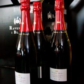 Flaskorna från Raventós i Blanc är inte bara goda, de är vackra också