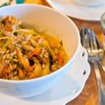 Asiatisk kycklinggryta med grönsaker