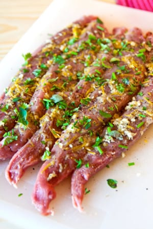 Grillad lammfilé