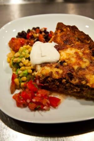 Chili Casserole Pie