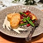 Fishcakes med bönsallad och bearnaisesås