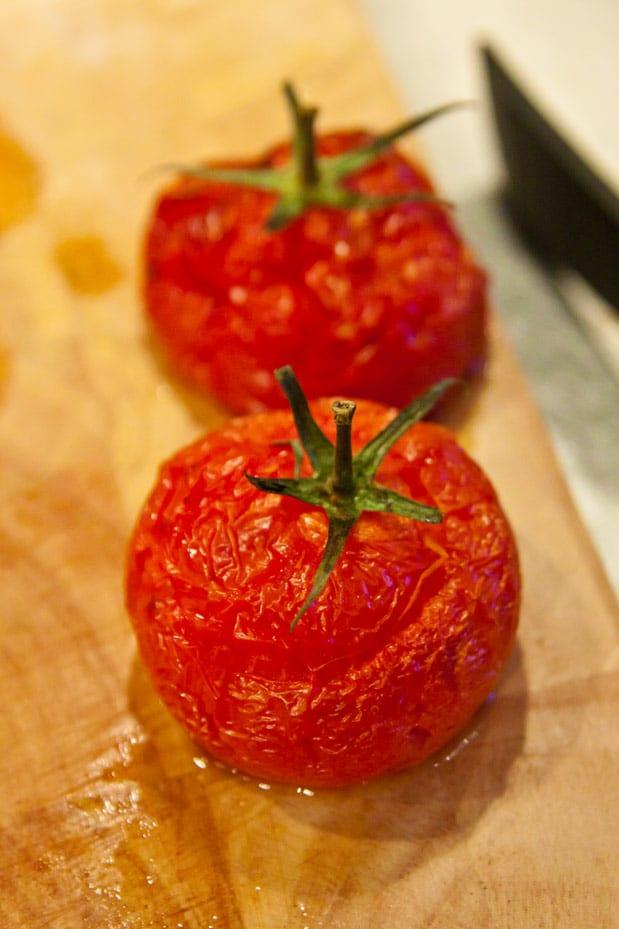 Ungstorkade tomater