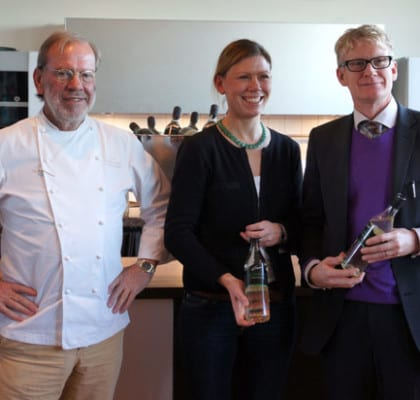 Erik Lallerstedt, Anna Lallerstedt och Linus Forsberg