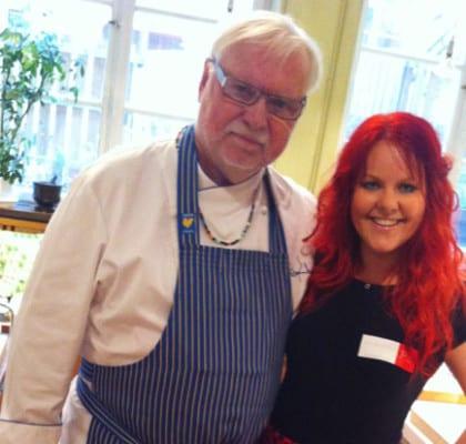 Leif Mannerström och Madeleine Landley