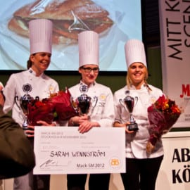 Sarah Wennström, Malin Larsson och Pia Fredriksen