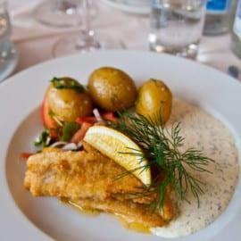 Löjromsfiske - Lunch på Sjöboden