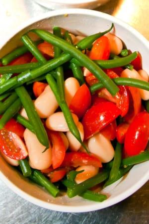 Bön- och tomatsallad - Veckobuffé