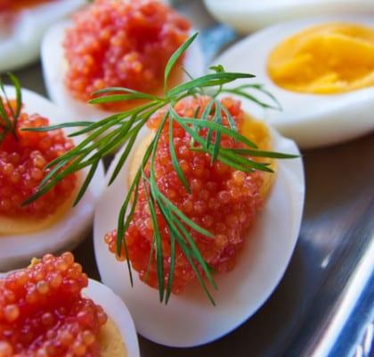Ägg med rom