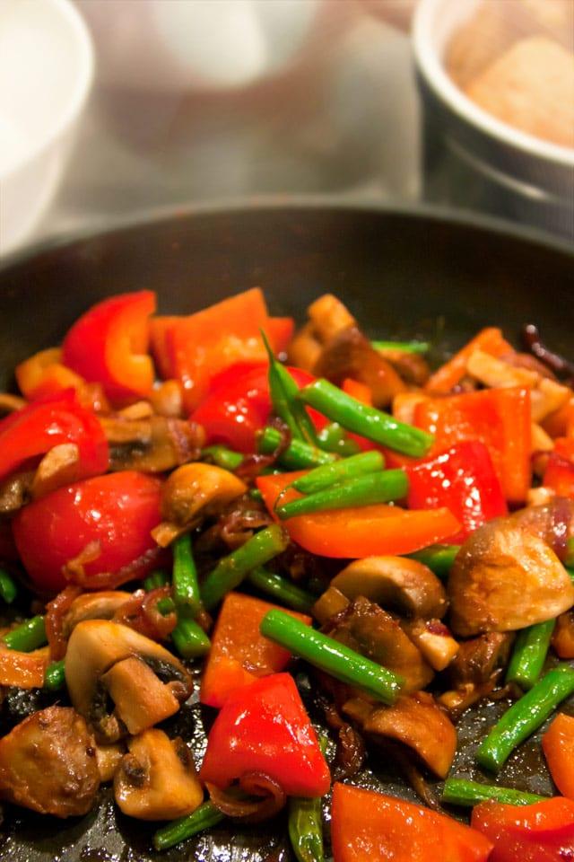 Frästa medelhavsgrönsaker