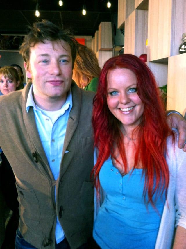 Jamie Oliver & Madeleine Landley