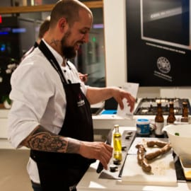 Öl- och korvkurs med Rent a Chef