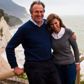 Greve Piervittorio Leopardi Ditajutti och Lidia Berlingieri