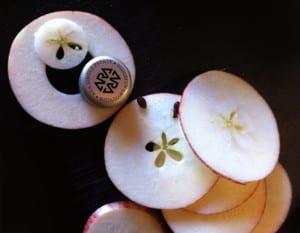 Vinkork och äpplen