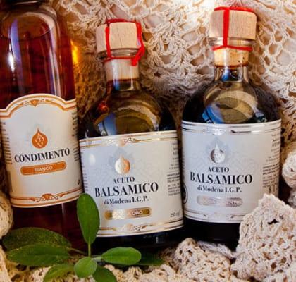 Foglia Condimento Bianco och Balsamico