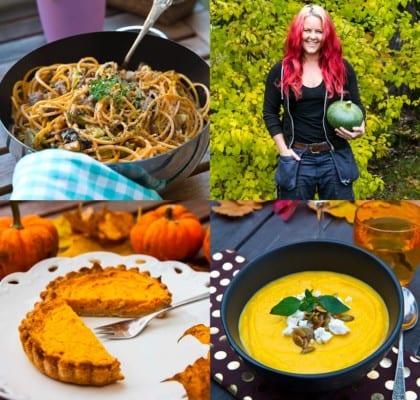 Bästa recepten med pumpa till Halloween och Allhelgona