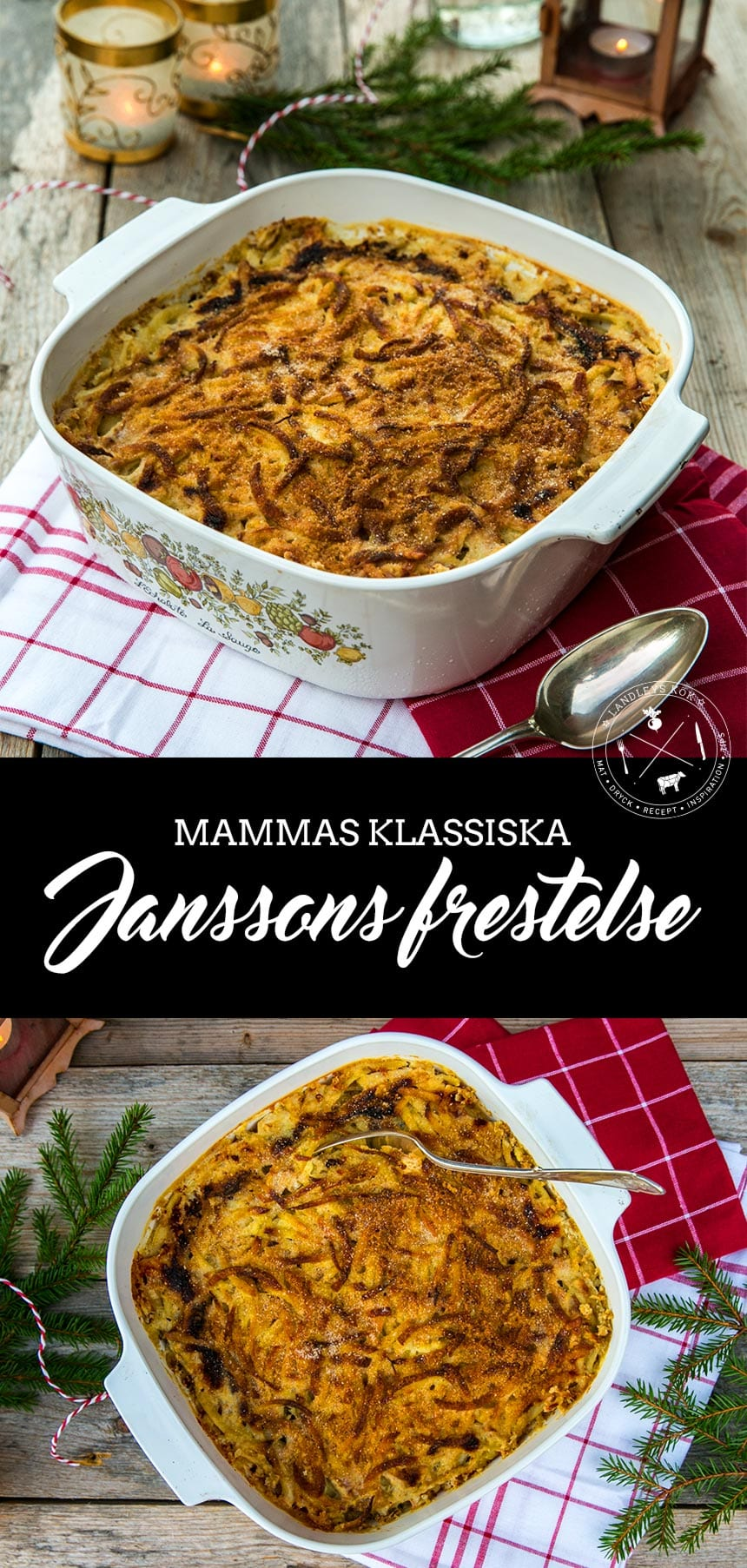Recept på Klassisk Janssons Frestelse