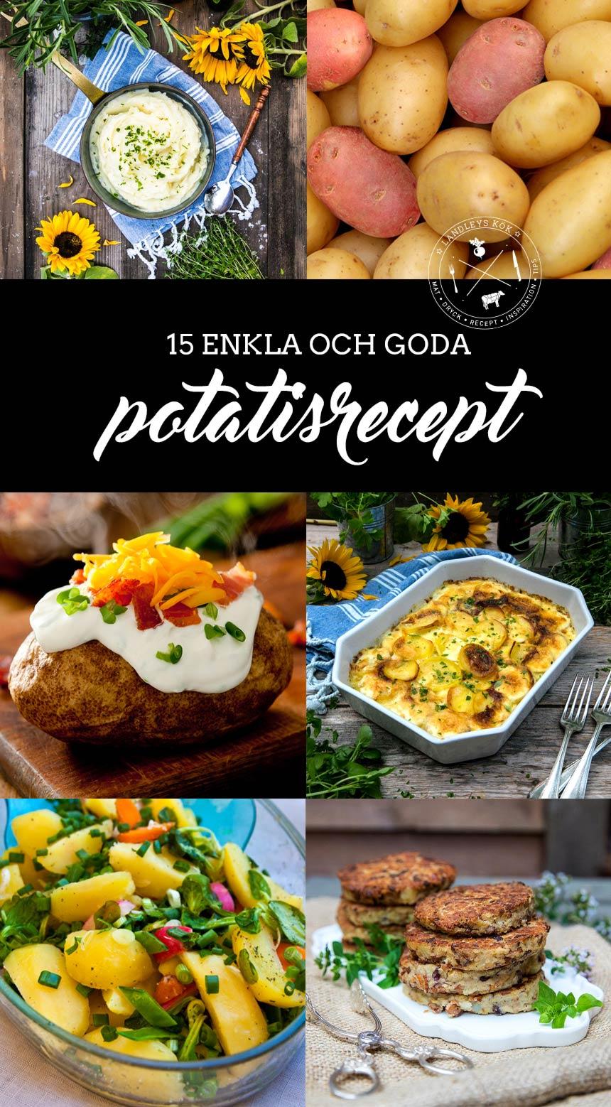 15 goda tips på vad man kan göra med potatis