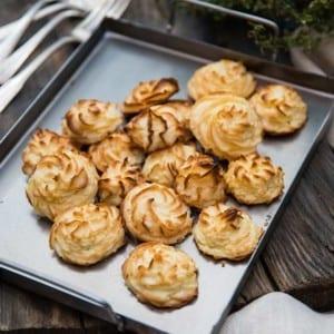 Potatiskroketter/Pommes Duchesse