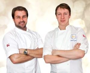 Christian Hellberg och Viktor Westerlind Årets Kock 2014