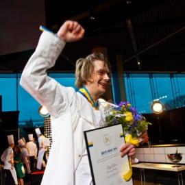 Vinnarbild Filip Fastén Årets Kock 2014