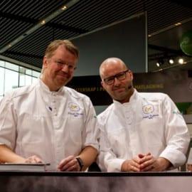 Rikard Nilsson och Anders Dahlbom Årets Kock 2014