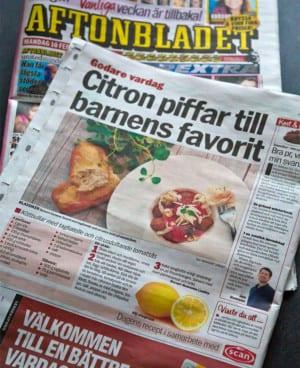Landleys kök i Aftonbladet