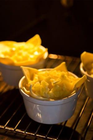 Potatis- och getostbakelse