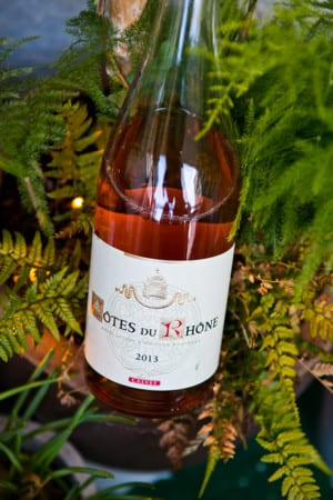 Côtes du Rhône Rosé Calvet (nr 2219)