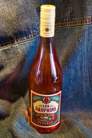 Les Dauphins Côtes du Rhône Rosé (nr 74902)