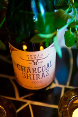 Texas Longhorn Charcoal Shiraz