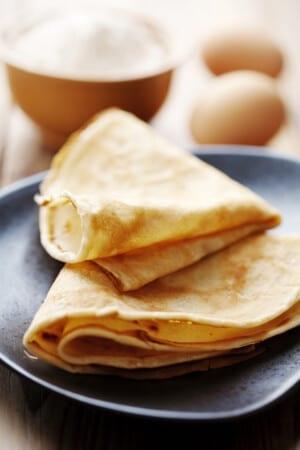 Recept på pannkakssmet till pannkakor, plättar och crepes