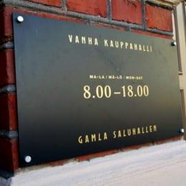 Gamla Saluhallen i Helsingfors, Finland
