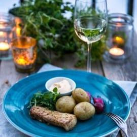 Vitt vin och mat