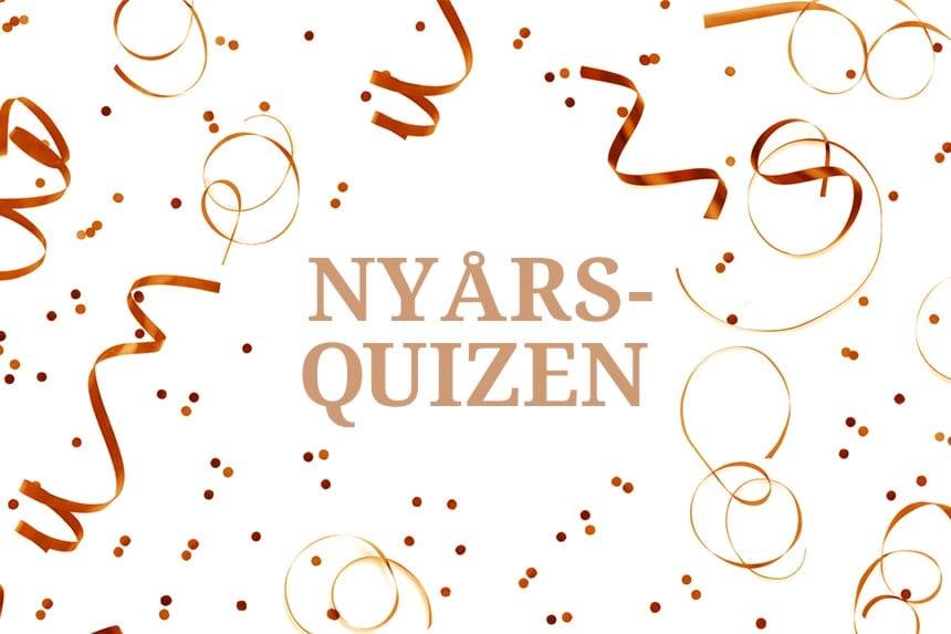 Quiz: Nyårsquizen